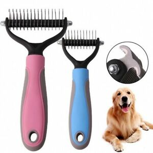 HarSeab Pet Stainless Steel Grooming Comb 7.5 Inch,Pet Comb for Dogs /& Cats,Pet Grooming Brush Deshedding Tool Removes Tangles and Knots