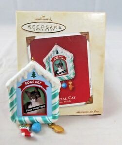 Hallmark Keepsake Ornament - Special Cat 2002 with Box (Add a Picture)