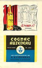 ADVERT Vineyard Wine Cognac J Sorin Auzeneau Marett Segrestan Gautier Freres