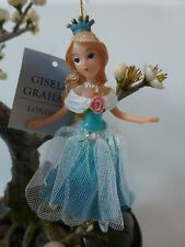 Gisela Graham Fairy Tale Cinderella Resin/Fabric Christmas Decoration (11.5cm)