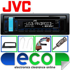 Ford KA MK1 JVC CD MP3 USB Aux In Car Stereo BLACK Fascia Fitting Kit