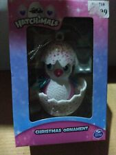 Hatchimals Pink and White Christmas Ornament
