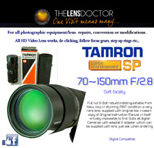 TAMRON SP70-150 F/2.8 SOFT FUNCTION NEW V. RARE EXCEPTIONAL PERFORMANCE SERVICED