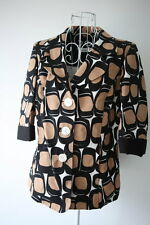 Marina Rinaldi by Max Mara 3/4 Sleeve 60's Vintage Jacket Blazer Top sz13 US4