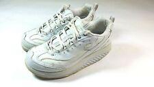 Skechers Women's Shape Ups Shoes Sz 8 White Sneakers Walking Exercise Training