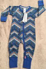 Bonds Zippy Zip Wondersuit Size 0 Surf Tribe **. 10 Items Post