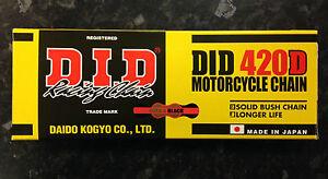 Suzuki LT50 Drive chain, rk Chain, 420 x 78 split pin link