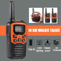 Handheld High-power Walkie-talkie Outdoor Civilian Long Range 10Km Small Machine