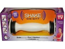New In Box Womens 2.5 LBS Auth Shake Weight Dumb Bell w Exercise Training DVD
