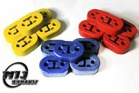 Uprated Heavy Duty Sports Universal Exhaust Rubber Mount Hanger 3 colours