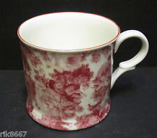 1 Laura Red Small English Fine Bone China Mug Cup By Milton China