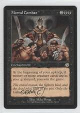 2002 Magic: The Gathering - Torment Booster Pack Base #71 Mortal Combat Card 0a1