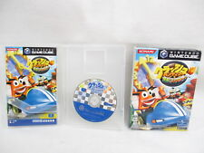CRASH BANDICOOT Bakuso Nitro Kart Ref/bbcc Nintendo Game Cube Japan Boxed gc