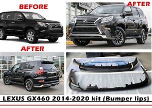 LEXUS GX 460 2014-2020 KIT (front & rear bumper lips) special offer