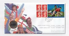 More details for 1999 coin cover; rugby world cup; royal mint £2 two pounds; pnc; free uk pp