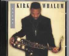 CD ALBUM 10 TITRES--KIRK WHALUM--CACHE--1993
