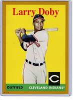 Larry Doby 2019 Topps Archives 5x7 Gold #76 /10 Indians