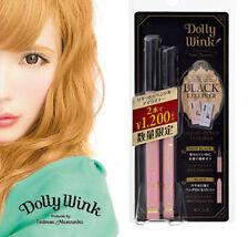 [KOJI DOLLY WINK] BLACK Liquid & Pencil Eyeliner 2016 Limited Combo Set JAPAN