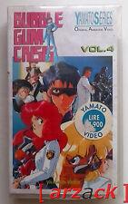Yamato TV Series BUBBLE GUM CRISIS 4 VHS NUOVO SIGILATO celophanato