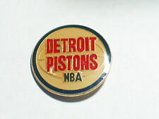 Detroit Piston NBA  Pin Vintage Hat Lapel (#162)