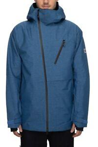 686 GLCR Hydra Thermagraph Jacket - Men's - Medium / Blue Storm Heather