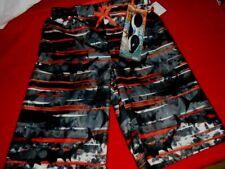 NWT Zero Exposure Boys XL 18-20 Board Shorts/Swimwear w/Goggles~Zinnia~Lined