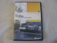 MICROSOFT OFFICE Professional Edition 2003 & Business Contact Manager Upgrade