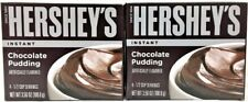 Hershey's Instant Chocolate Pudding 3.56 oz TWO PACK PER ORDER