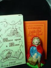 "WADE LITTLE RED RIDING HOOD 4.50"" TALL 1998 Ltd ed 1000 RARE MINT BOXED CERT 6,"