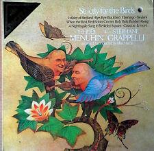 YEHUDI MENUHIN & STEPHANE GRAPPELLI - STRICTLY FOR THE BIRDS- ANGEL - DIGITAL LP