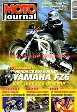 MOTO JOURNAL 1600 YAMAHA R6 HONDA 600 Hornet Fazer SUZUKI SV 650 BMW R1200 GS