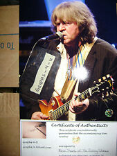 The Rolling Stones Signed Mick Taylor Autorgaph proof COA 6