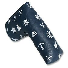 New ANCHOR Golf Club Blade Putter Head Cover Headcover For Callaway Taylormade