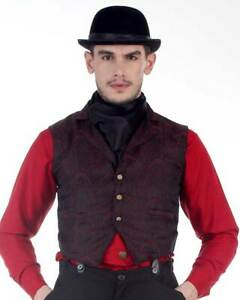 Men's Clockwork Vest Steampunk, High quality finest fabric, handmade!!