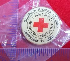 2001, Southern Arizona Chapter (Tuscon, AZ) of the American Red Cross