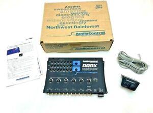AudioControl DQDX 6Ch Digital Signal Processor, EQ, Crossover, Signal Delay