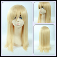 Attack on Titan Historia Reiss Cosplay Props Wig Golden Anime Party Hairpiece