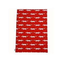 Scion Living Mr Fox Set of 2 Tea Towels (Red)