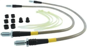 StopTech 950.23000 Stainless Steel Braided Brake Hose Kit Fits 05-11 Elise Exige