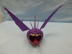 HOW TO TRAIN YOUR DRAGON PURPLE THUNDERDRUM DRAGON ACTION FIGURE TORNADO TOY