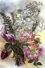Sulamith Wulfing BEAUTY of FLOWERS 2015 Calendar Art Print Professionally Matted
