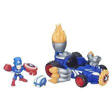 Captain America & Racer Vehicle Micro Set Marvel Super Hero Mashers Boys 4+ NEW