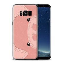 STUFF4 Gel/TPU Case for Samsung Galaxy S8/G950/Animal Stitch Effect/Pig