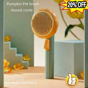 Pet Brush Dog Cat Brushes for Shedding and Grooming Self Cleaning Slicker Comb