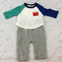 BABY GAP TODDLER BOYS ONE PIECE OUTFIT 0-3 MONTHS NWOT