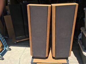INFINITY RS4B Classic Wood Pair Speakers