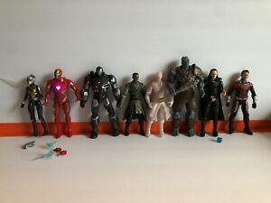 Marvel Legends 8 Figure Lot Korg Iron Man Loki Dr Strange Ant man ...