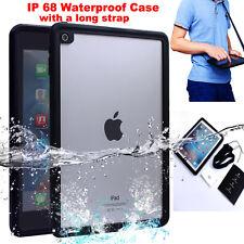 """IP68 Waterproof Shockproof Heavy Duty Hard Case Cover w/ Strap For iPad Pro 9.7"""""""
