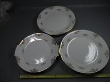 Lot de 3 ancienne assiettes porcelaine