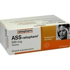 ASS RATIOPHARM 500mg Tabletten  100St 3416422